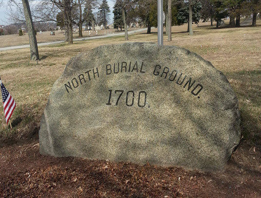 North Burial Ground in Providence Ri