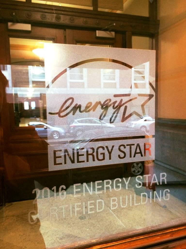 City Hall Energy Star Label
