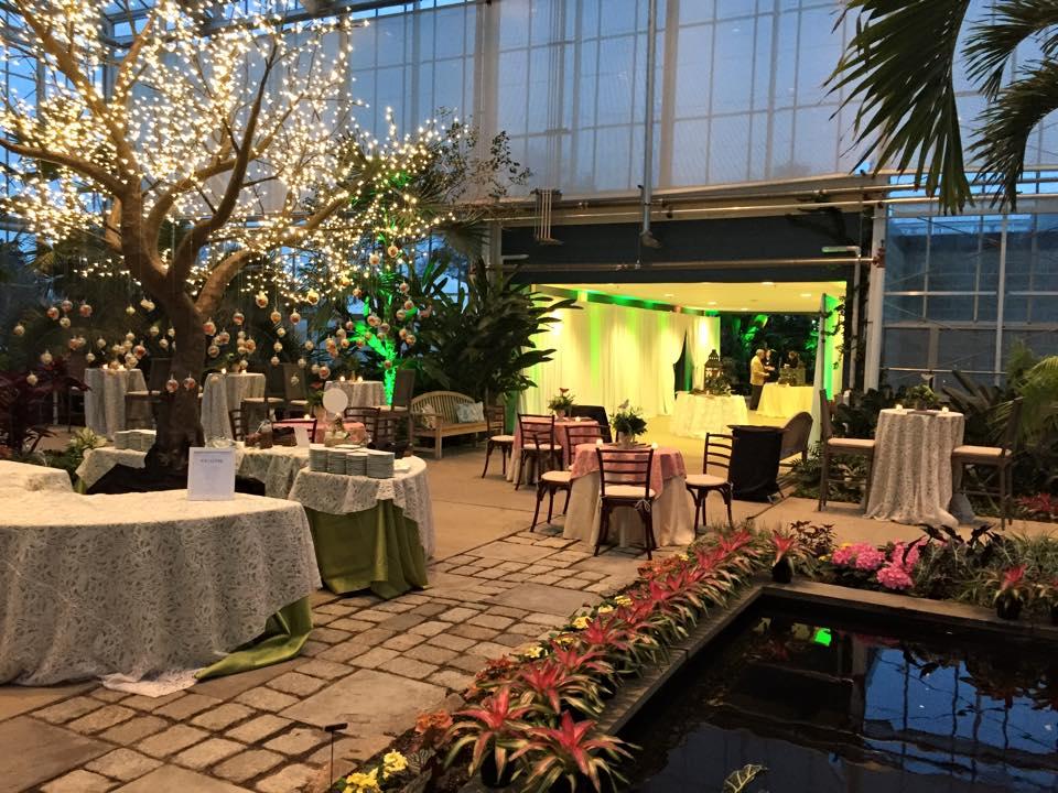 Wedding at the Botanical Center