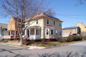 Solar Panels on several homes in Providence