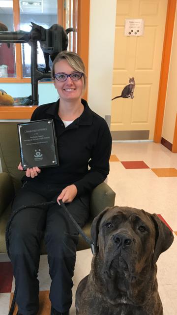 Animal Control Award
