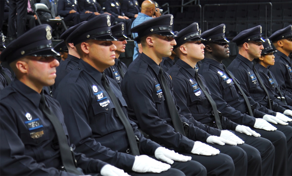Fifty-five recruits graduate from the 68th Providence Police Department Training Academy