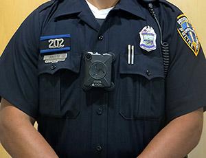 Body Camera worn by Providence Police