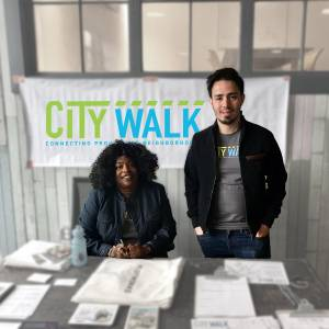 City Walk Street Team members get community input to integrate into plans