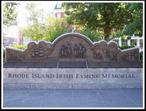 RI Irish Famine Memorial