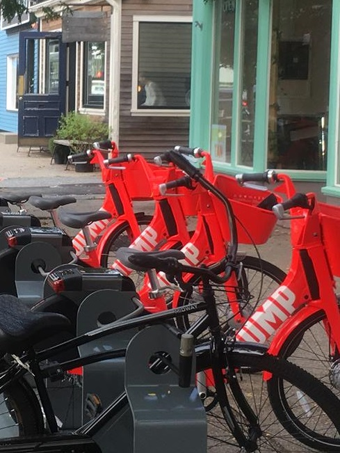 Mayor Elorza, Uber Announce Launch of JUMP Dockless Electric Bike Share in Providence