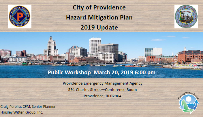 Public Comment Requested on City Multi-Hazard Mitigation Plan