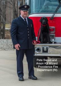 Arson Investigator Peter Sword