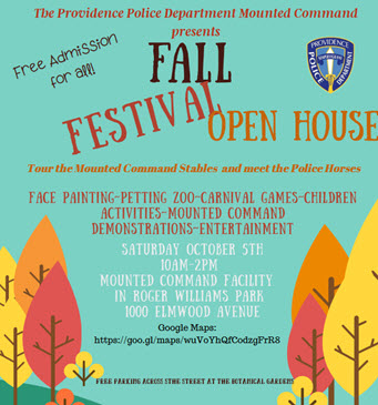 Mounted Command Fall Festival – Open House