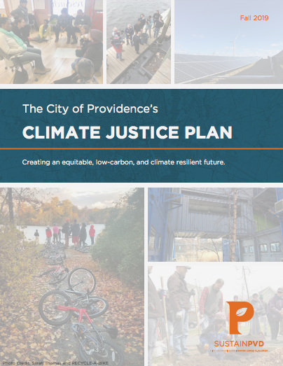 Mayor Elorza, Community Members Unveil Providence's Climate Justice Plan