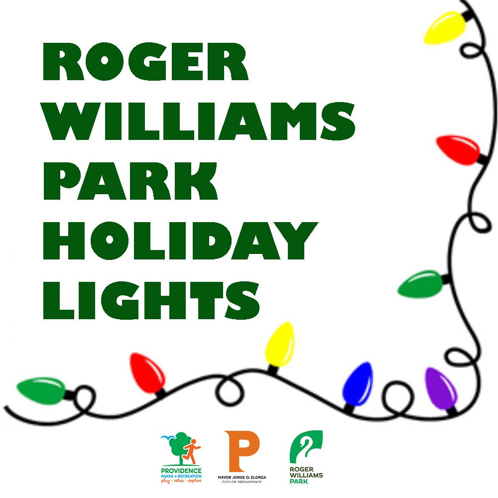 Roger Williams Park Holiday Lights